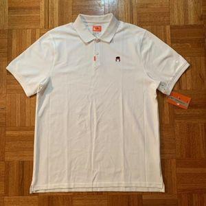 Nike Tennis John McEnroe Headband Polo Golf Shirt